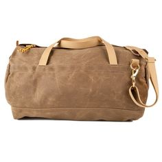 Archival twill duffel from wilderness workshop