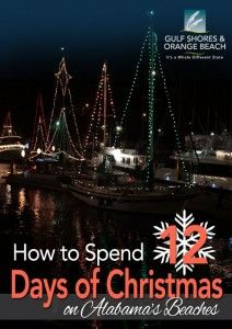 How to spend 12 Days of Christmas on Alabama's Beaches!