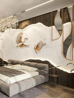 Bedroom Wall Designs, Modern Bedroom Design, Home Room Design, Master Bedroom Design, Luxury Interior Design, Bathroom Interior Design, Living Room Designs, Lobby Interior, Apartment Interior