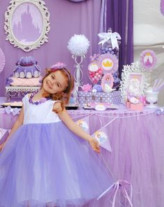 Sofia The First Party Silouettes  Disney Princess by Krownkreation, $4.99