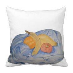 Kissen mit Kunstmotiv Obst