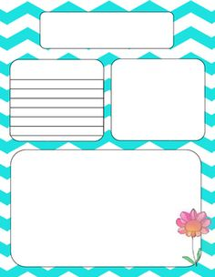 This is a set of 8 different color chevron newsletter templates.  They are editable in Power Point.