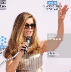 Maria Shriver (b. 1955) long haired and lookin' good. Los Angeles, April 2013.
