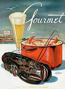 Food And Beverage Photograph - A Lobster And A Lobster Pot With Beer by Henry Stahlhut