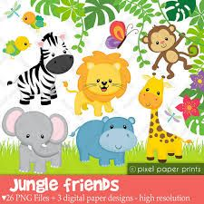 kawaii animals jungle - Buscar con Google