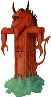 Clipart Ölgrafik - Devils, Teufel - http://www.lunabaer.de/lb_english/devils.html