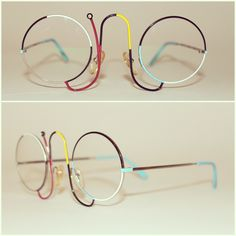 Vintage Casanova CMR 1 Eyeglasses/Sunglasses inspired from Miro
