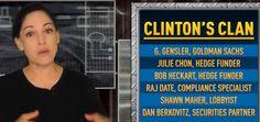 8 APR - Clinton holds all-star fundraiser for ex-Wall St regulators
