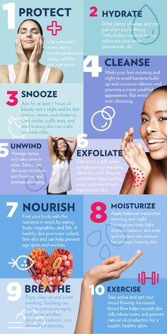 10-anti-aging-skin-care-tips-infographic