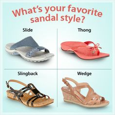 Shop from our wide assortment of sandals at FootSmart