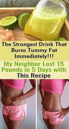 The Strongest Drink That Burns Tummy Fat Immediately! My Neighbor Lost 15 Poun… - Health Detox Weight Loss Snacks, Weight Loss Drinks, Weight Loss Tea, Loose Weight, How To Lose Weight Fast, Losing Weight Fast, How To Lose Belly Fat, Detox Water To Lose Weight, Lose Tummy Fat