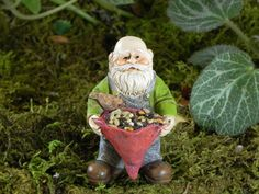 Miniature Gnome Fairy Garden Accessories by TheLittleHedgerow
