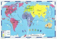 Blog de los niños: Mapas de España y del Mundo para niños (con juegos interactivos)
