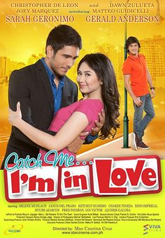 Catch Me I'm In Love Firstly, is talking about A ladies man falls for a renowned radio DJ. A young girl with high ideals about romance is assigned to accompany the spoiled son of the president as he goes on an immersion Romance Movies, Drama Movies, Falling In Love Movie, Movies To Watch, Good Movies, Movies Free, Pinoy Movies, 2011 Movies, Foreign Movies