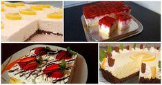 Egy egész hétre elegendő nyári finomság! Kellemesen savanykás sütik, dugig gyümölcsökkel! Cheesecake, Food And Drink, Cheesecakes, Cherry Cheesecake Shooters
