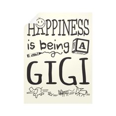 Happy Gigi Wall Decals