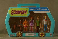 2001 Scooby-Doo Mystery Solving Crew 5-Pack Set by Equity VERY RARE NIB SEALED - SOLD