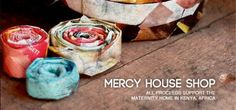 Support Mercy House by purchasing handmade jewelry, clothes, and more. The Mercy House exists to provide alternative options for pregnant girls living in the streets of Kenya. The Mercy House will aid them in nutrition, housing, prenatal care, Bible study, counseling and job skills for sustainable living.