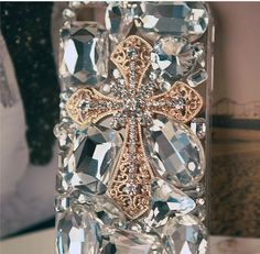 Michelle Look!!    Custom Luxury Rhineston iPhone Cases Hard iPhone 5 by Maria0824E, $29.99
