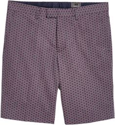 H&M - Patterned City Shorts - Dark blue - Men