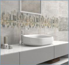 Entre nuestros revestimientos del catálogo 2014 presentamos esta serie Royan para baños que enamoran  A new bathroom concept #ceranosa #picoftheday #instaceranosa #cevisama #interiordesign #bath #bathroom #WallTiles