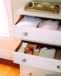 April Fools Day- Drawer Confusion    Rearrange your spouse's drawers to make him wonder if he's still asleep. I want to do this to the kids drawers. This will be funny