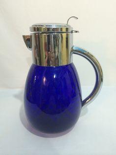 Garrafa Para Água Com Porta Gelo - Anos 70 - R$ 188,00 no MercadoLivre