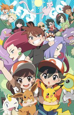 Pokemon Mew, Pokemon Fan Art, Cute Pokemon, Pikachu, Pokemon People, Original Pokemon, Pokemon Special, Pokemon Pictures, Game Character