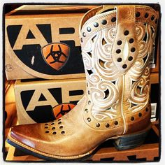 Ariat Cowgirl Boots at RiverTrail in North Carolina.