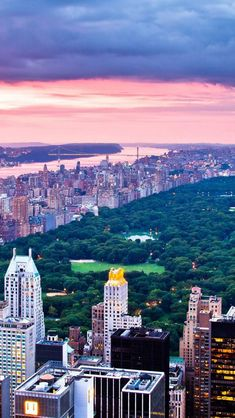 Central Park  Hudson River ~ Manhattan, New York - Haven't been to NYC in quite a while. I miss it!