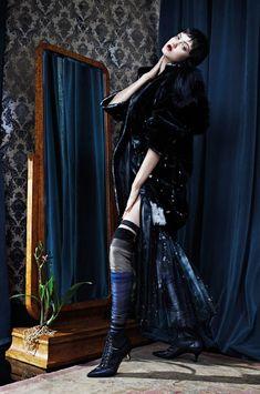 Stylish Attitude: Lindsey Wixson By Emma Summerton For Vogue Italia November 2014