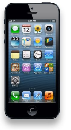 Love my iPhone 5. My first Apple product but not the last.