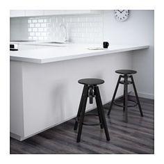 IKEA - DALFRED, Barkruk, De hoogte kan naar behoefte worden aangepast.