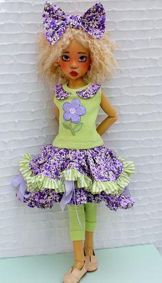 Beautiful doll by Kaye Wiggs