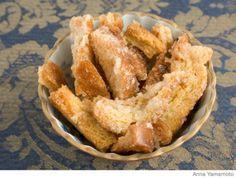 Rusks, i.e. bread crust snacks