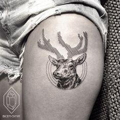 I tatuaggi minimalisti di Bicem Sinik