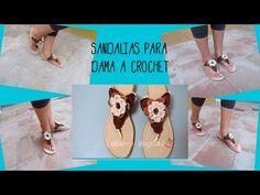 SANDALIAS PIES DESCALZOS a crochet | BAREFOOT SANDALS (english sub) | paso a paso AHUYAMA CROCHET - YouTube