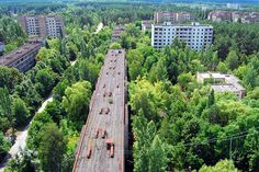 Ciudad fantasma radiactiva en Ucrania