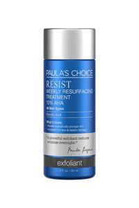 Resist Weekly Resurfacing Treatment 10% AHA #paulaschoice #fragrancefreeproducts #crueltyfreeproducts - good