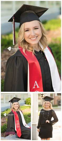 cap and gown Graduation Picture Poses, College Graduation Pictures, Graduation Portraits, Graduation Photoshoot, Graduation Photography, Senior Girl Photography, Grad Pics, Senior Picture Outfits, Girl Senior Pictures