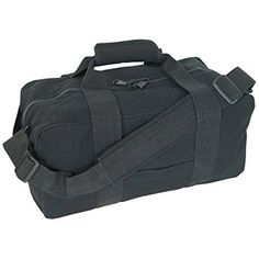 Fox Outdoor Products Canvas Gear Bag, Black, 14 x 30-Inch
