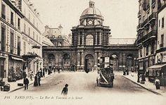 Paris 6e - La rue de Tournon