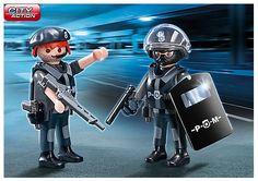 City Action mit dem Duo Pack SEK-Team von Playmobil