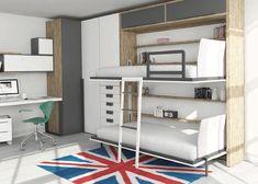 En Espai Juvenil os ayudamos a diseñar el dormitorio de los más jóvenes de la casa. Camas con tatami, camas bajas, zona de estudio.