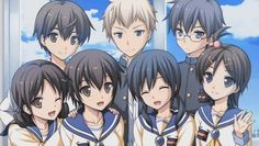 Smile... only five of you will survive what comes next... ~Corpse Party