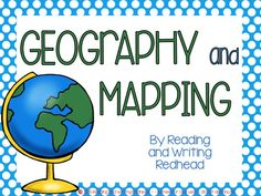 Click to enlarge pin and see preview images with this gif! Get 77 pages of geography practice! This activity pack includes printables, games, and a take home project for students in grades one, two, and three.   Some of the concepts and skills covered includes: Compass rose Cardinal directions Continents and their locations 5 oceans  and locations Major Rivers and Oceans Using maps, Using coordinate grids....