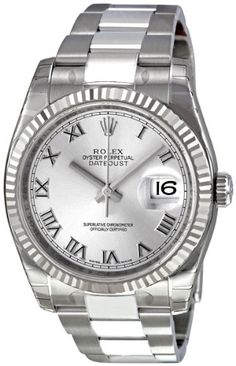 Rolex Perpetual Datejust Rhodium Dial Stainless Steel 18kt White Gold Mens Watch 116234RRO Rolex http://www.amazon.com/dp/B00BCYJMZC/ref=cm_sw_r_pi_dp_I.LEub0V042W7