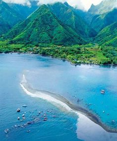 621 Best Australasia Images Beautiful Places Places To Travel - Tahiti-a-exotic-residence