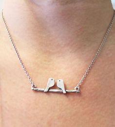 Birds On A Branch Necklace by Jesse & Co