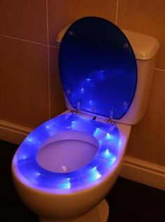 And The Toilet that glows! Shitty.